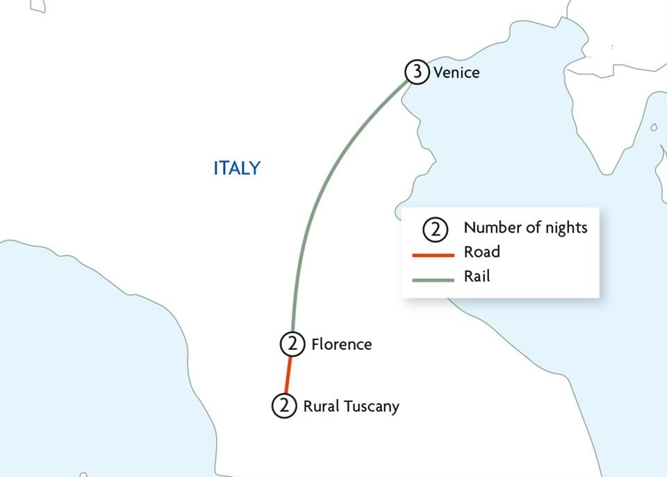 Luxury Venice and Tuscany by Belmond