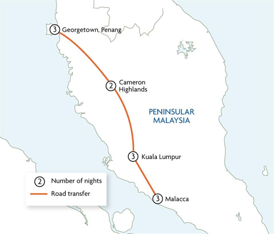 Explore Peninsular Malaysia