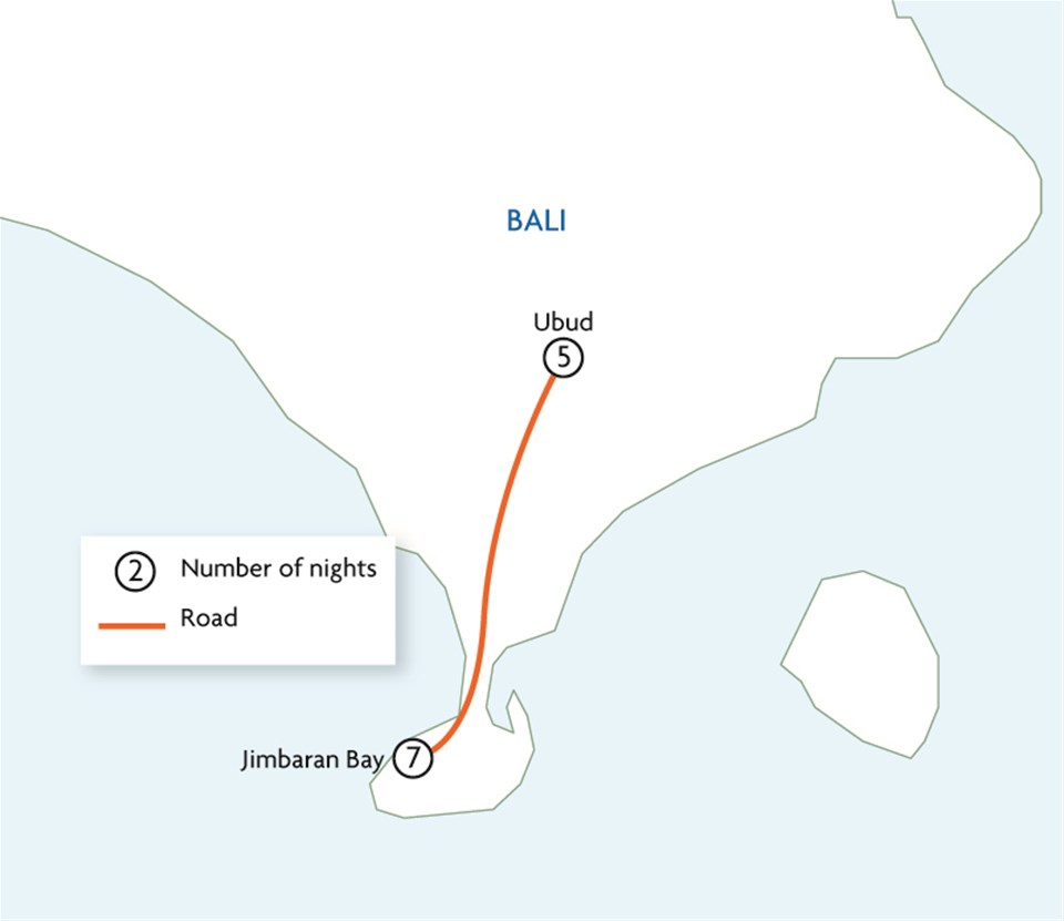 Absolute Luxury Bali - Jimbaran Bay & Ubud