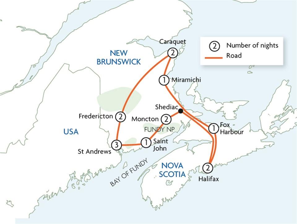Bay of Fundy & Acadian Explorer