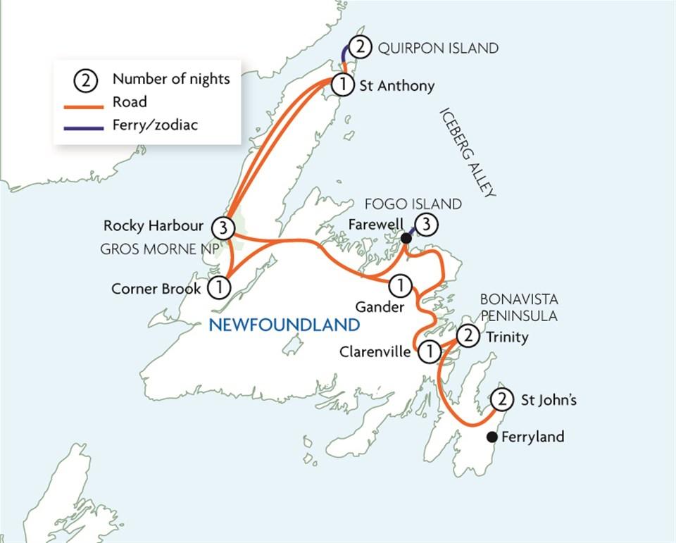Legends of Newfoundland