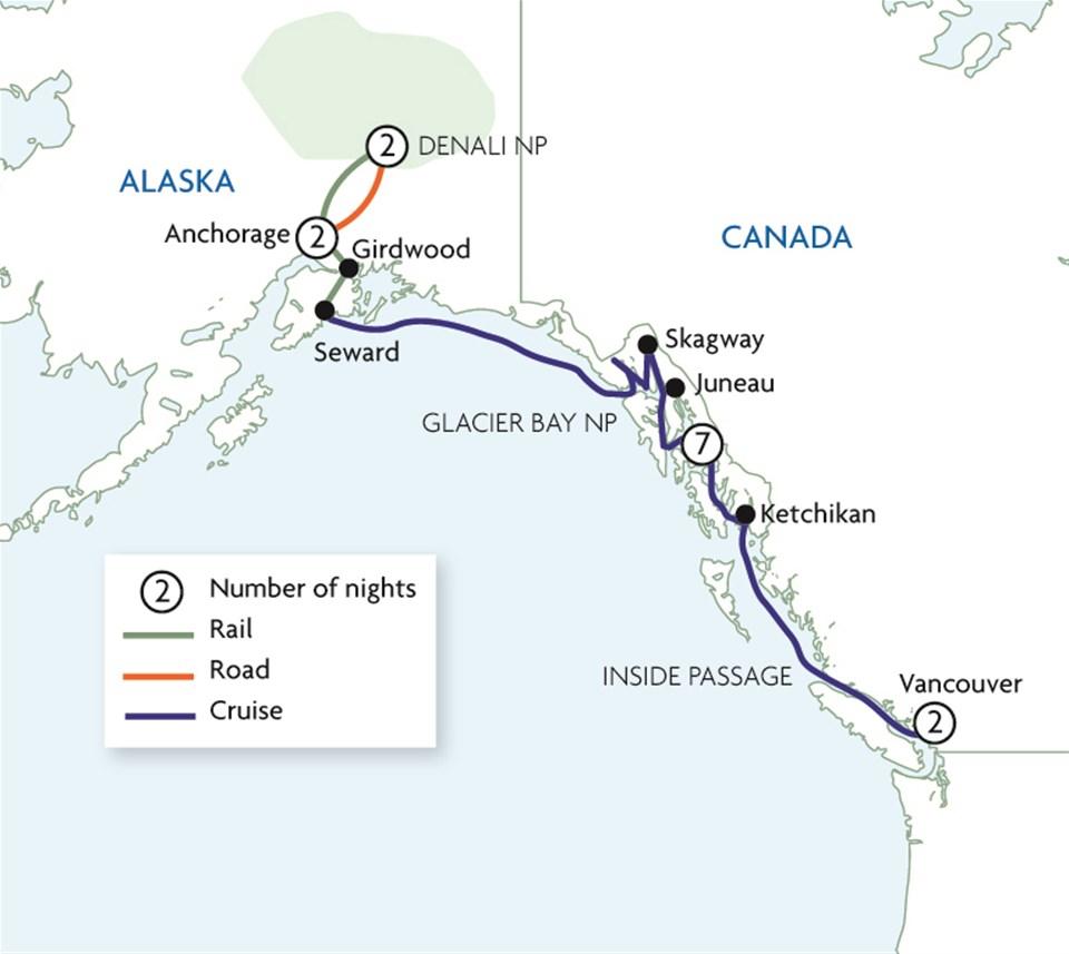 Alaska by Land & Sea