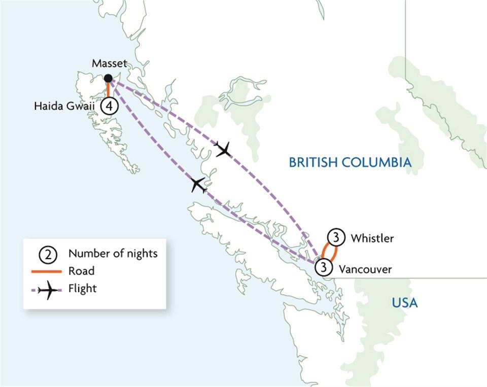 Haida Gwaii Archipelago & First Nations Encounters