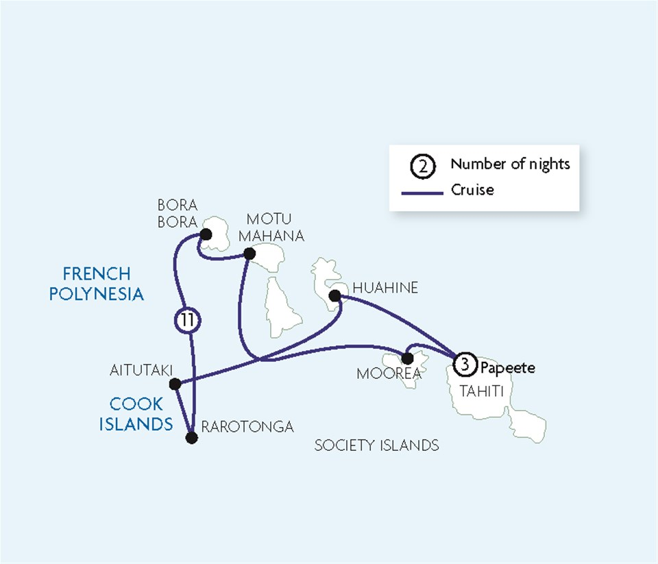 Fabulous French Polynesia & Cook Islands