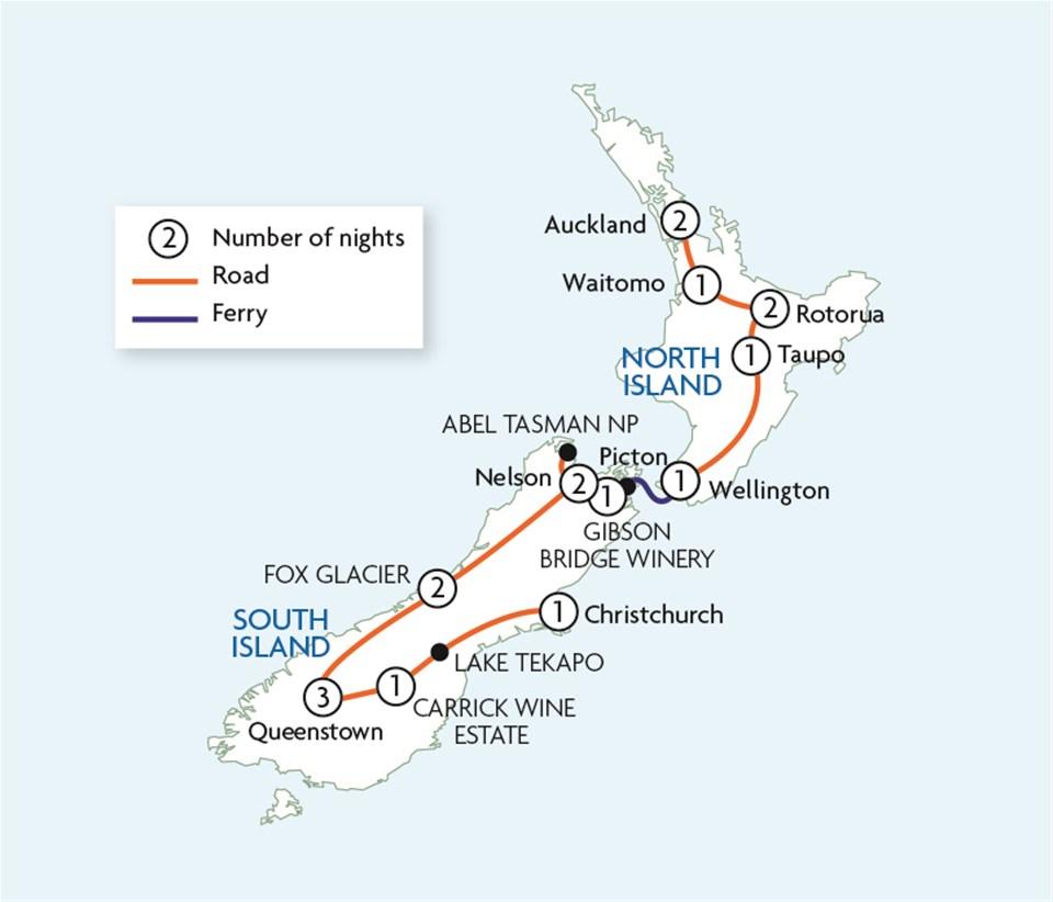 Kia Ora New Zealand
