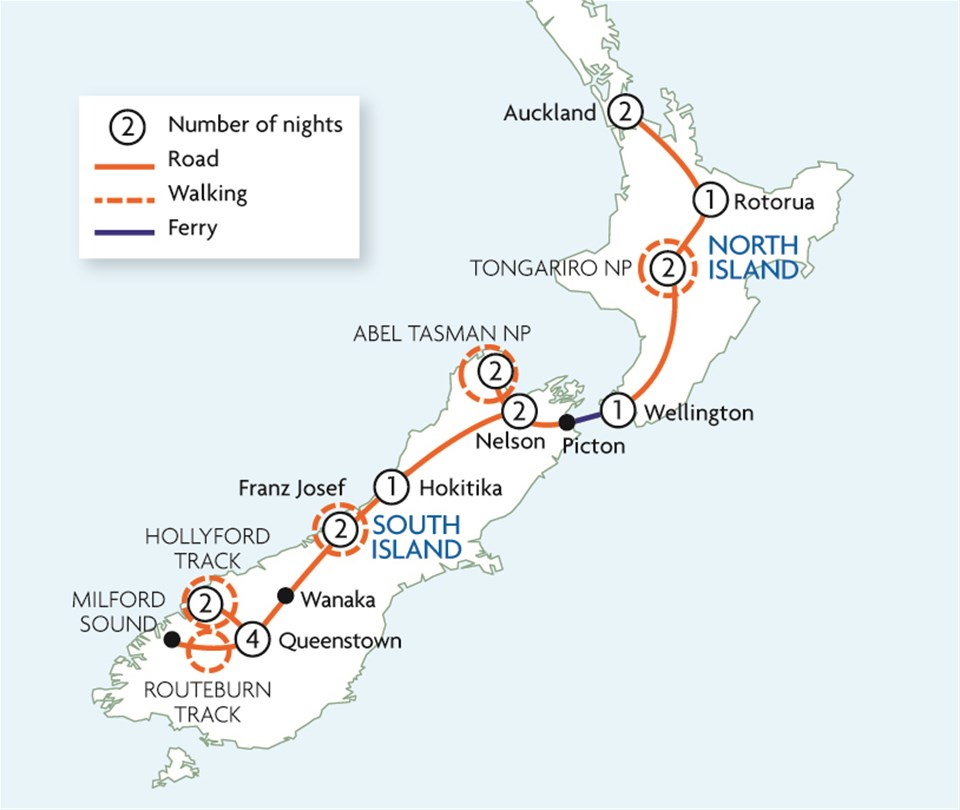 Great Walks of New Zealand