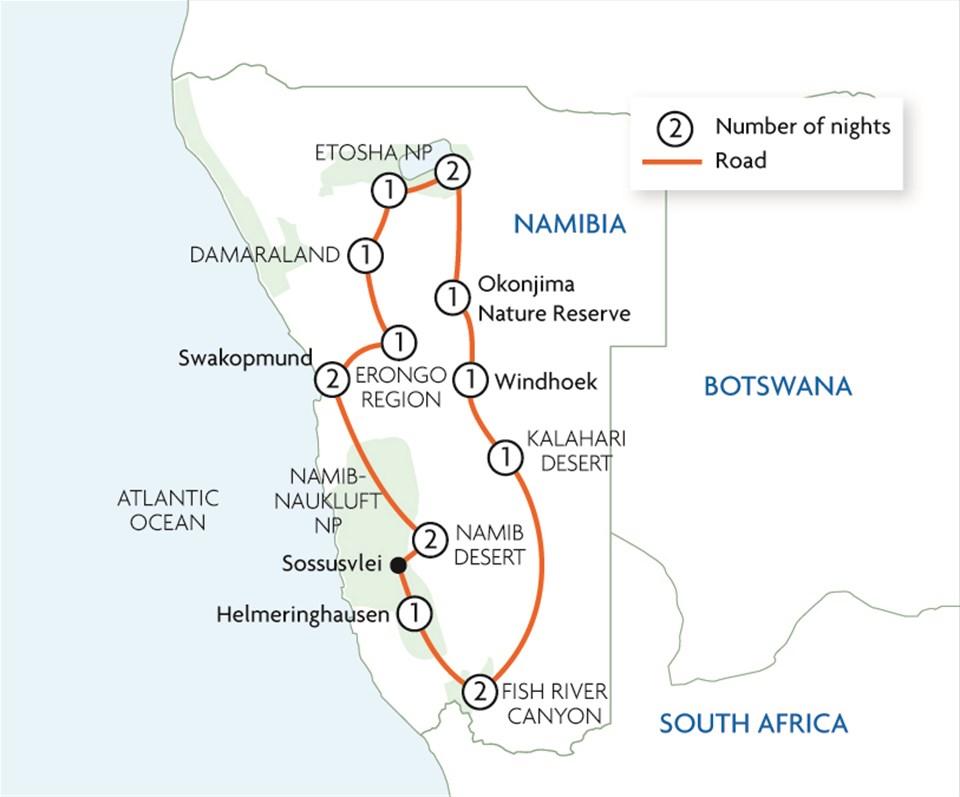 Namibia in Depth