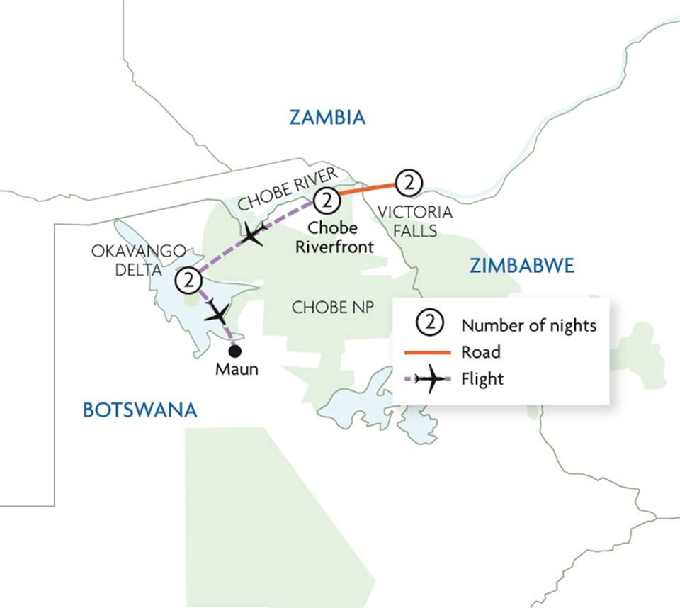 Best of Botswana & Victoria Falls