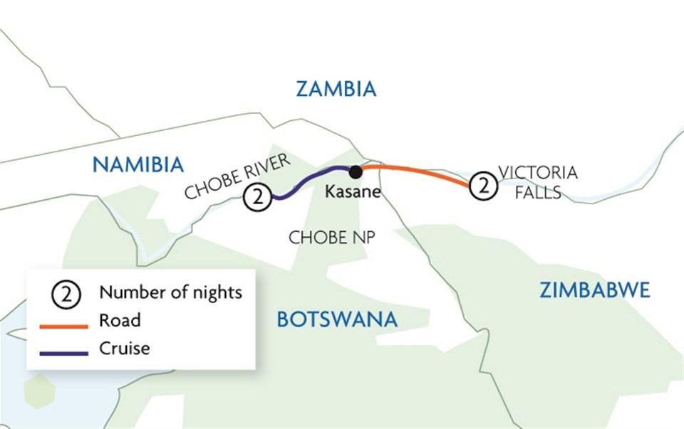 Chobe River Cruise & Victoria Falls