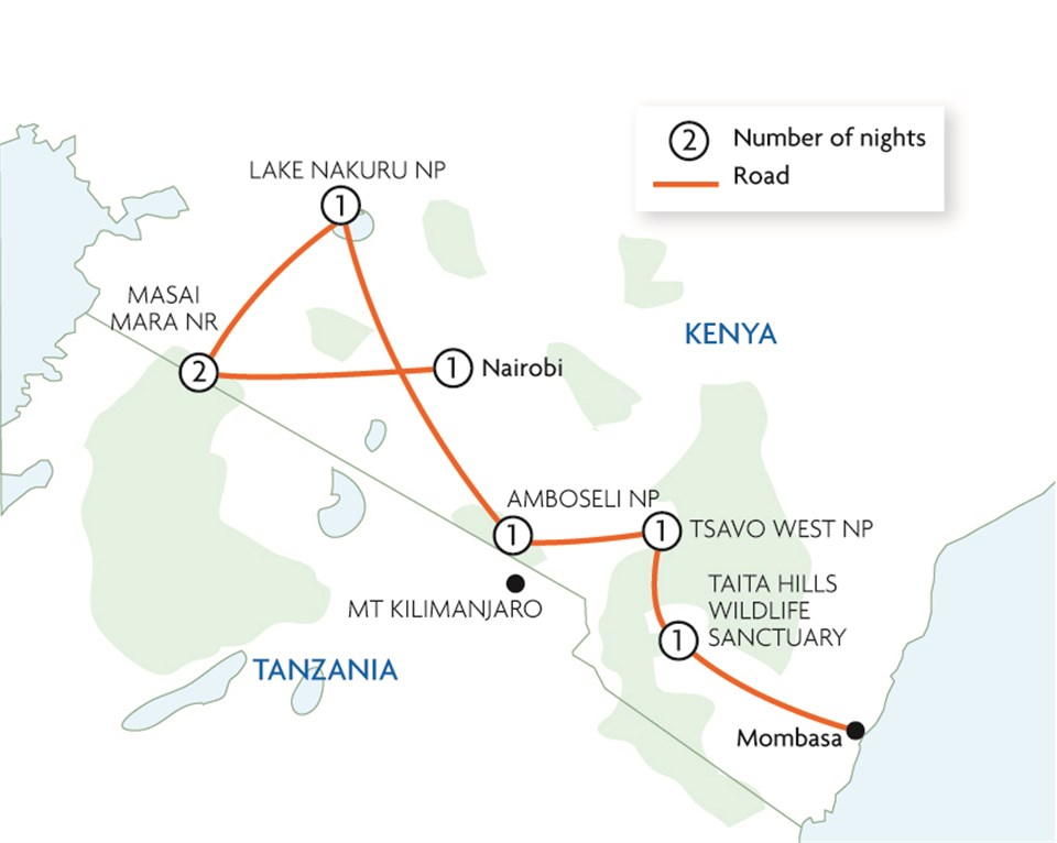 A Kenyan Odyssey to the Mombasa Coast (small group)