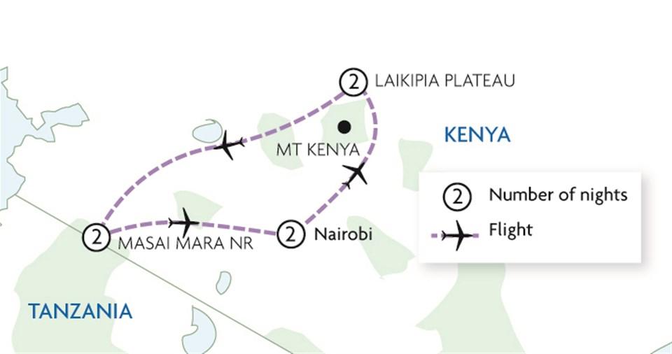 Kenya Family Fly In Safari