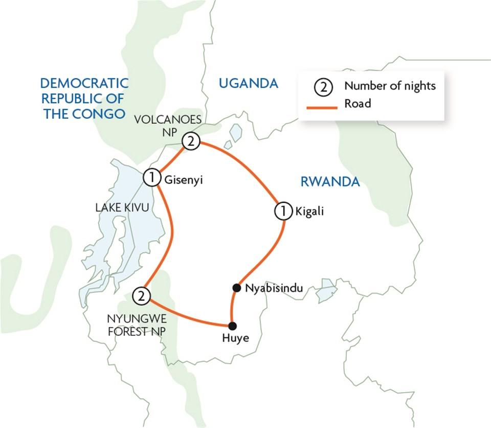 Gorillas & Chimps of Rwanda