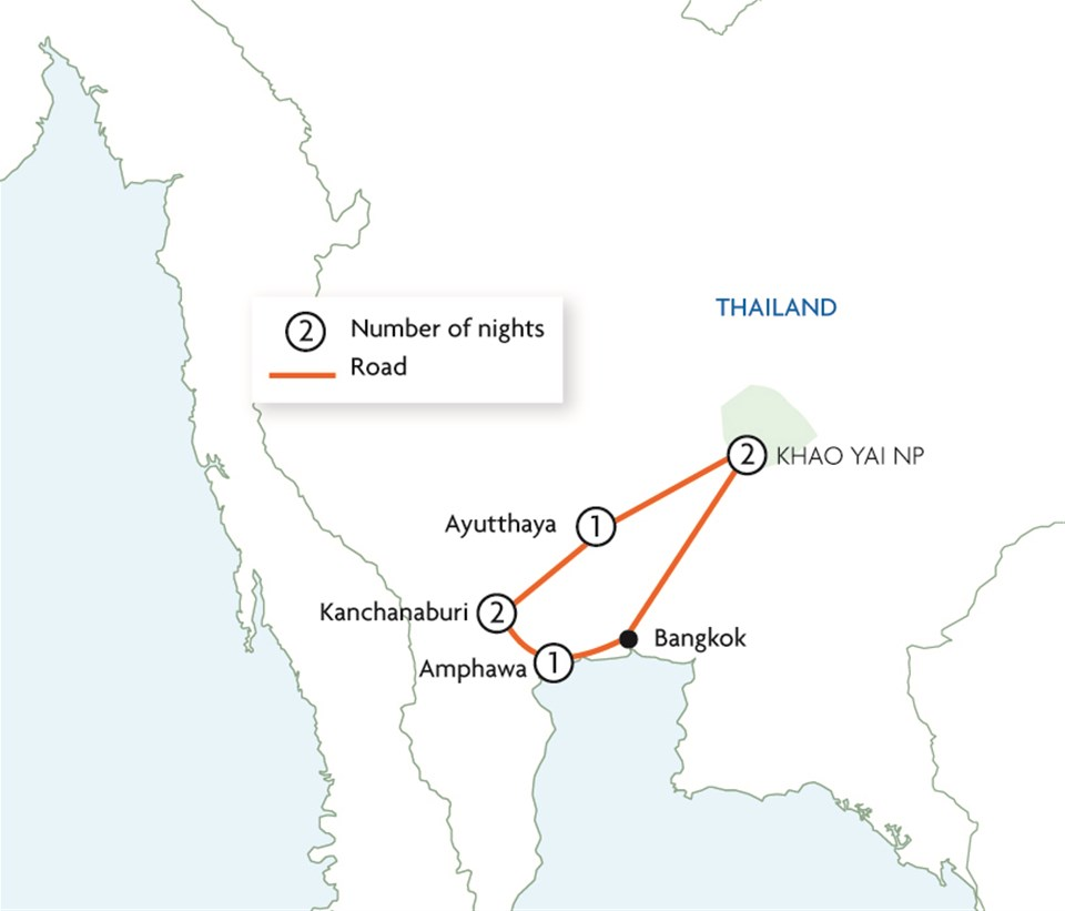 Central Thailand Explorer