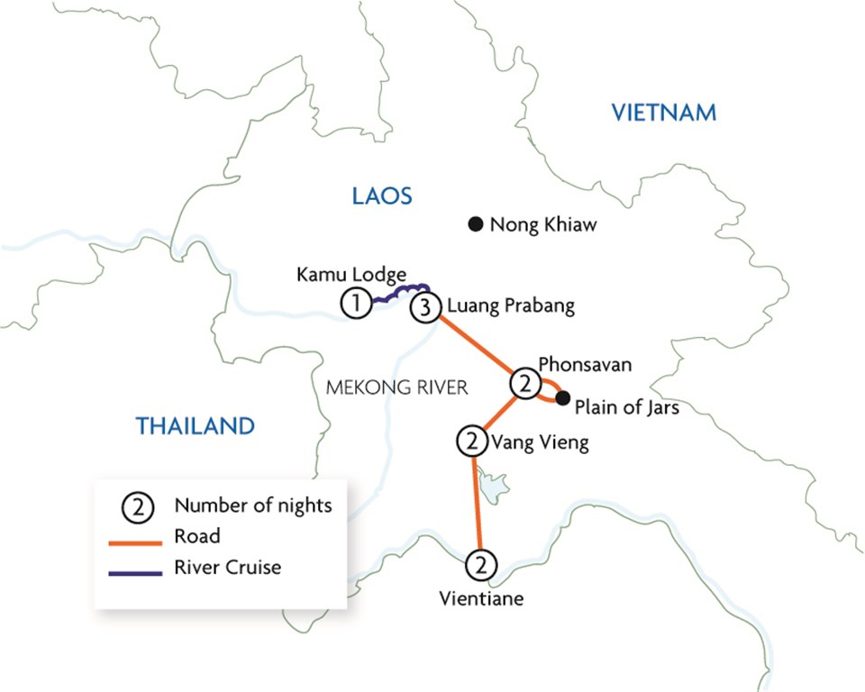 Journey Through Laos