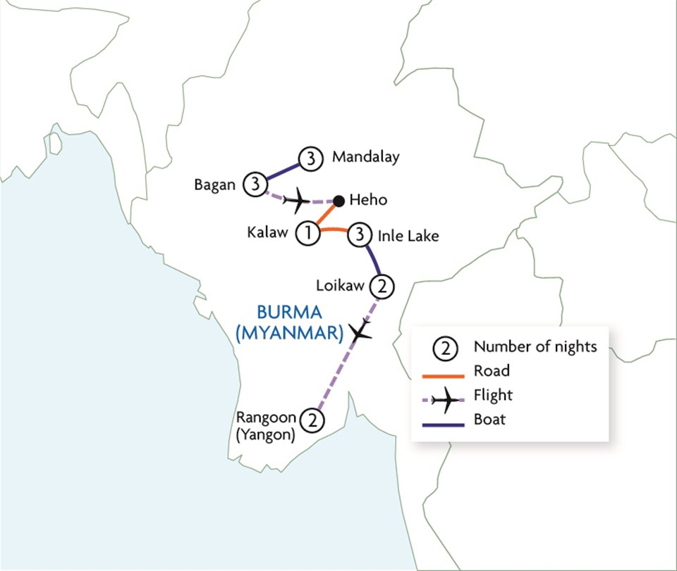 Journey Through Burma