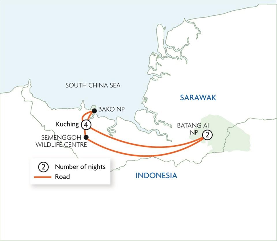 Journey Through Sarawak