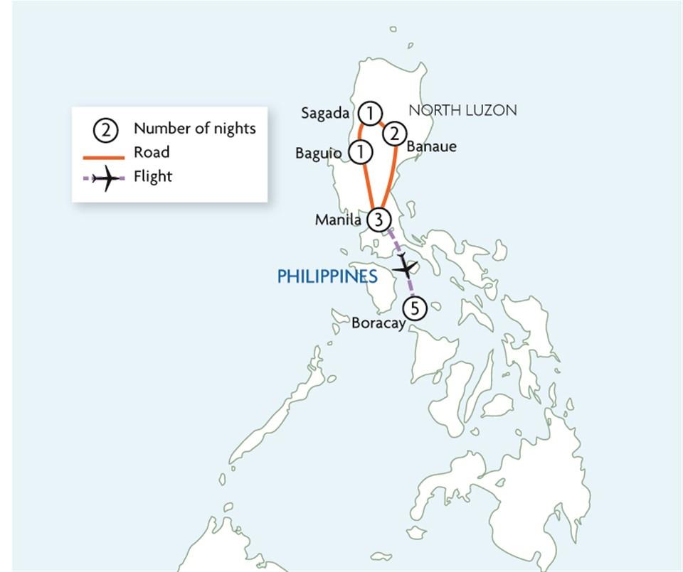 Philippines Northern Explorer & Beach Escape