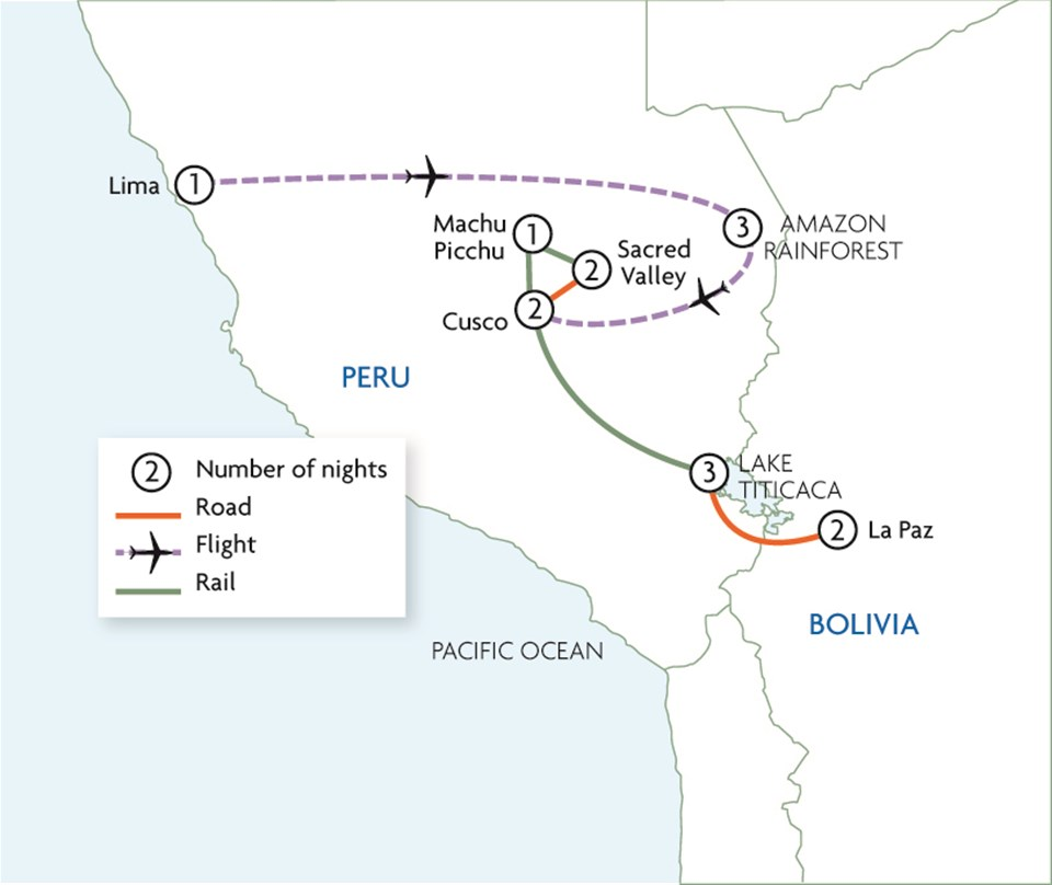 Amazon & Incas - Peru & Bolivia