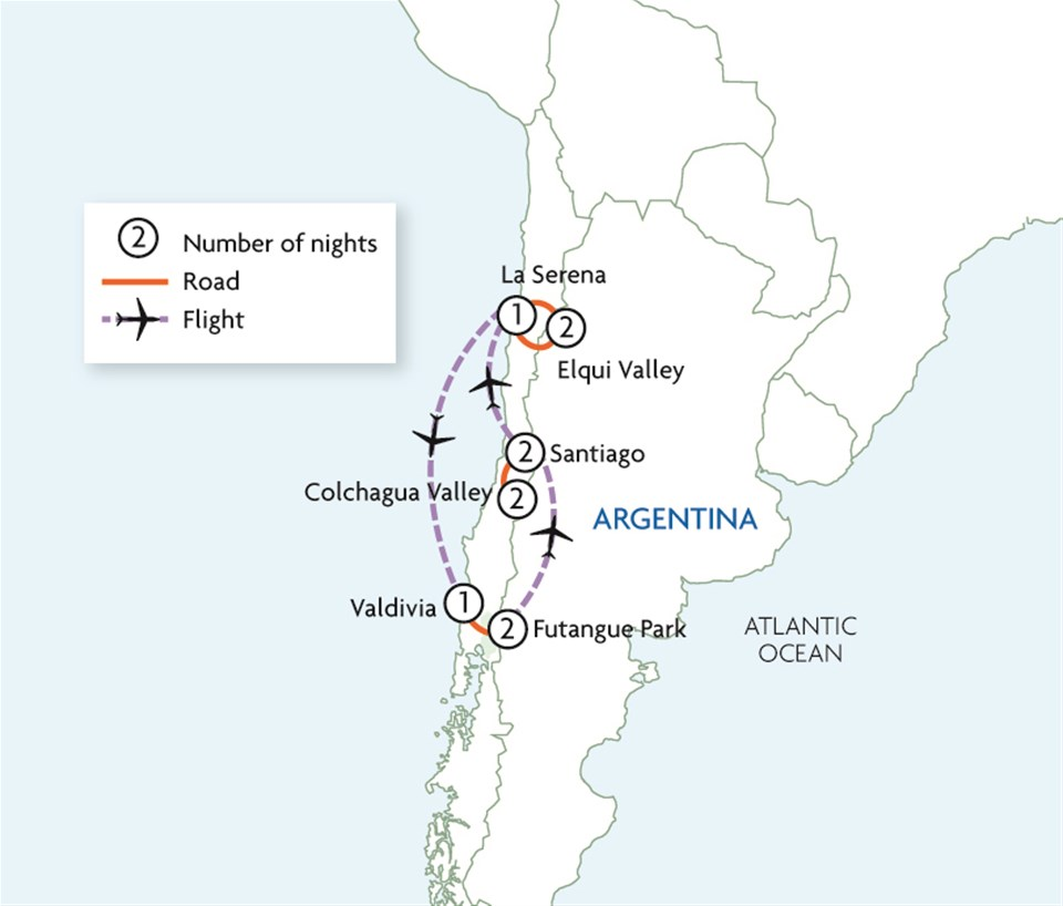 Planets, Pisco & Patagonian Parks - Chile Less Travelled