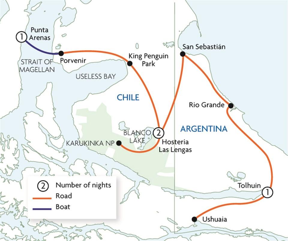 Tierra del Fuego Extension