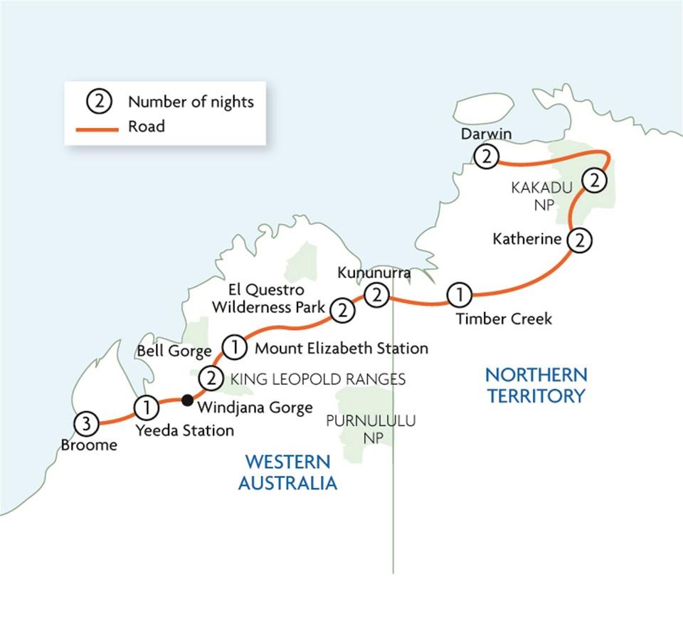 Australia Less Travelled: Broome To Darwin Via The Gibb River Road