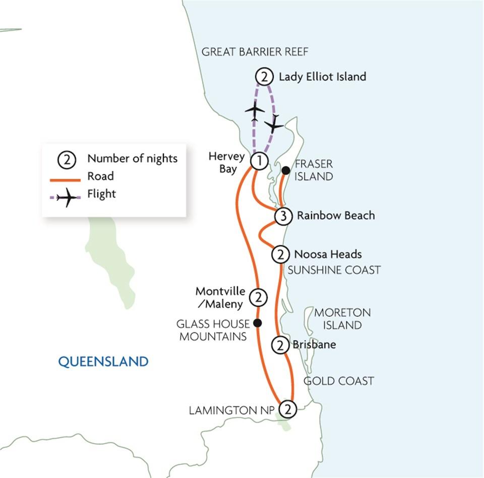 Queensland Coast & Hinterland