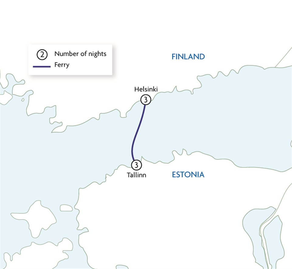 Helsinki & Tallinn