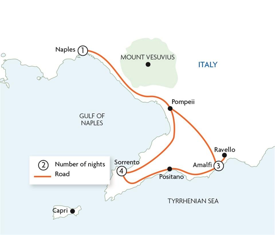 Sorrento & the Amalfi Coast