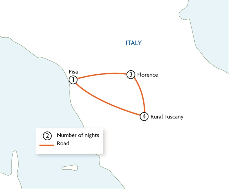 Tuscany's Wine Trails & Medieval Towns