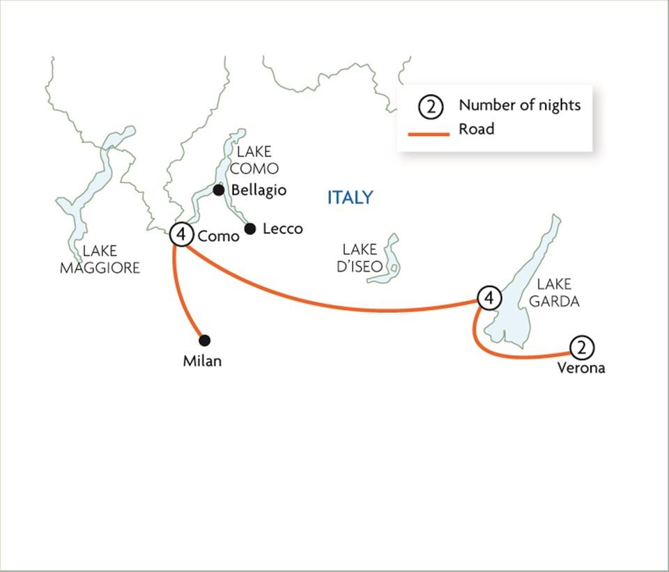 Italy's Glistening Lakes