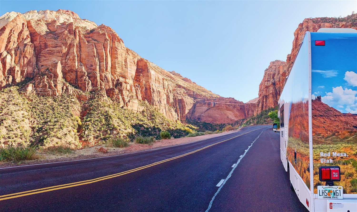 Exploring the USA's National Parks by Motorhome