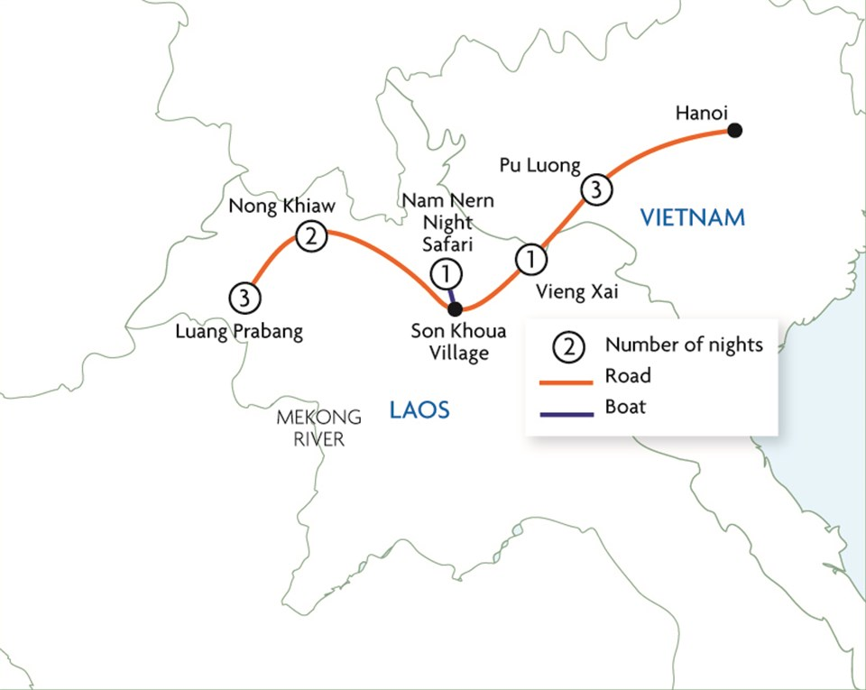 Hidden Hills of Indochina