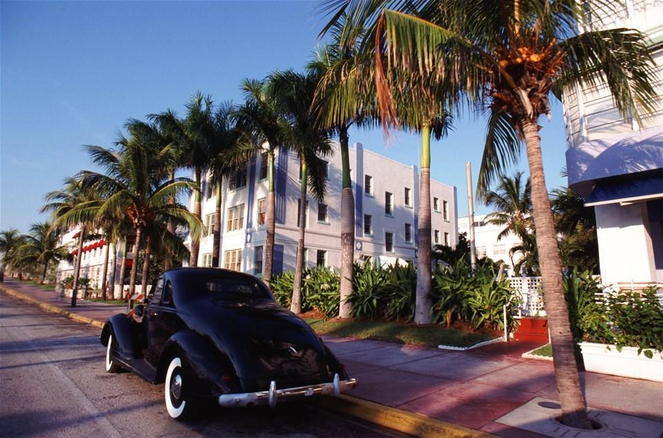 Miami stopover...