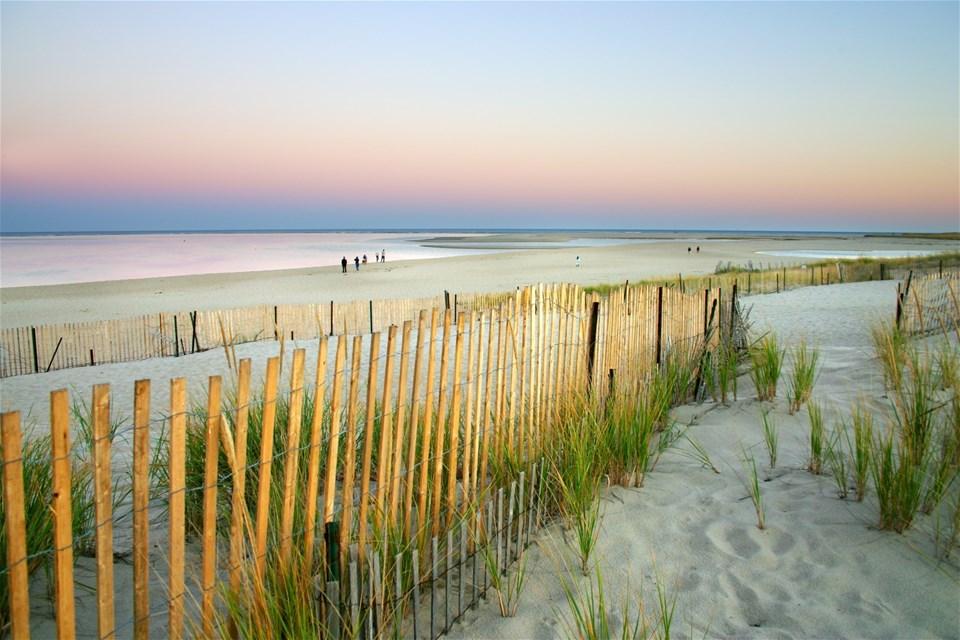 City & Sand Dunes
