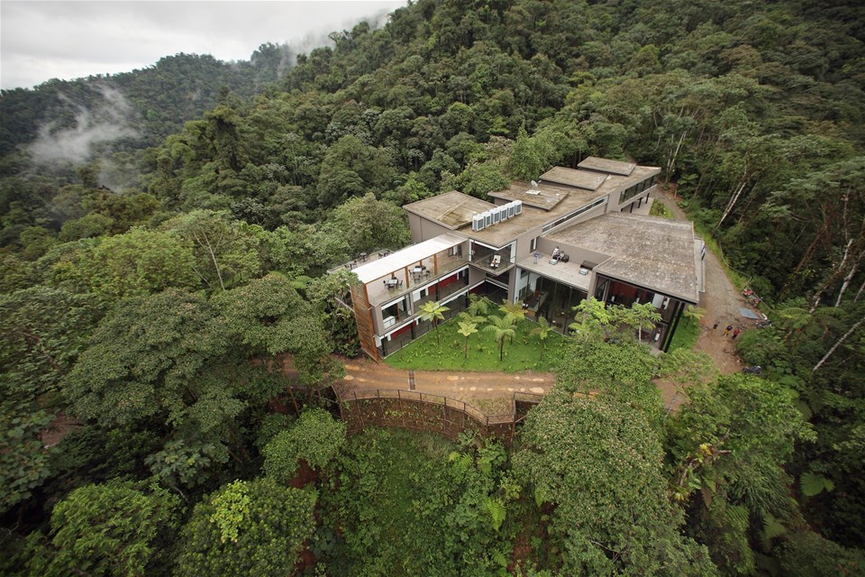 hotels in cloud forest