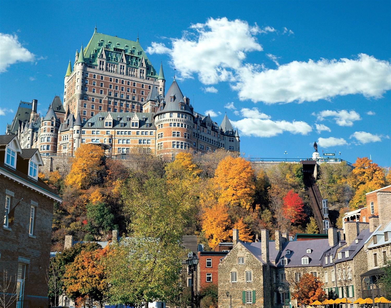 Fairmont Le Chateau Frontenac Quebec Eastern Canada