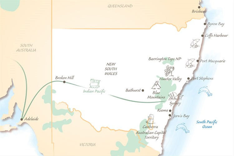 Holidays in New South Wales