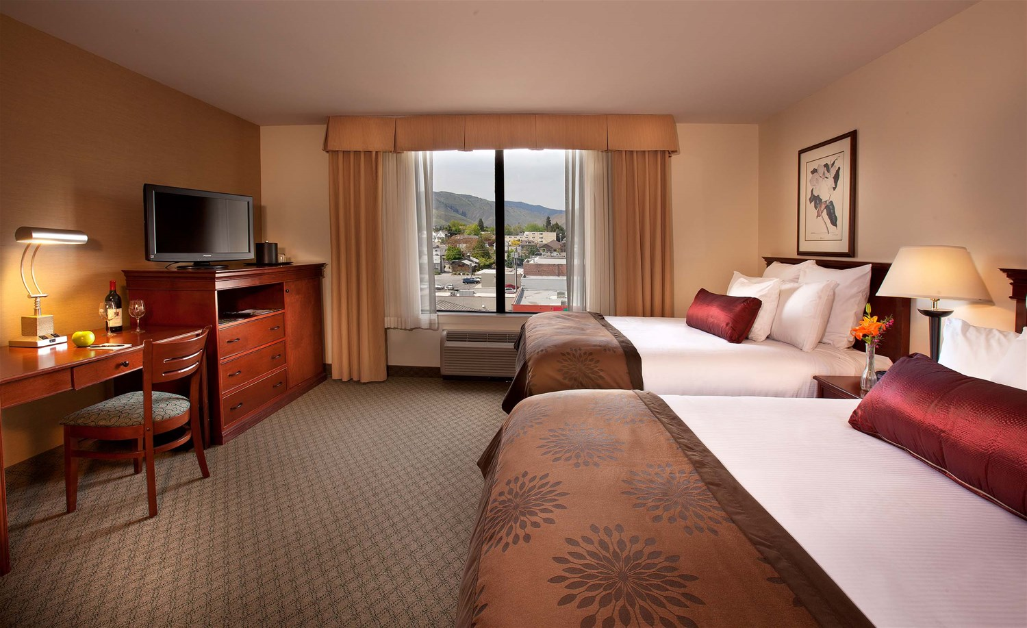 coast wenatchee center hotel seattle the pacific. Black Bedroom Furniture Sets. Home Design Ideas