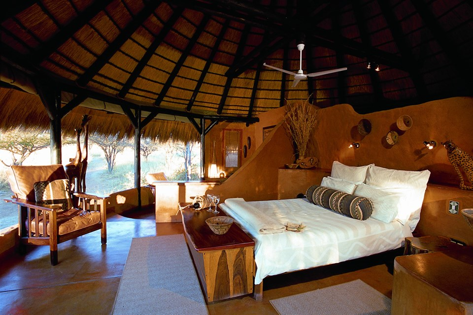 hotels in central namibia