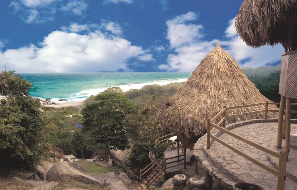 hotels in tayrona national park
