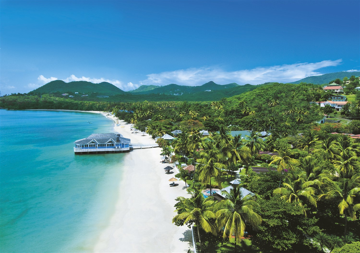 Sandals Halcyon Beach Saint Lucia Trailfinders The Travel Experts