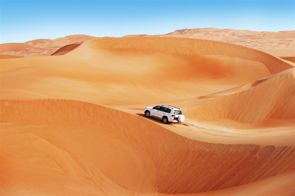 Abu Dhabi Dune Dinner Safari