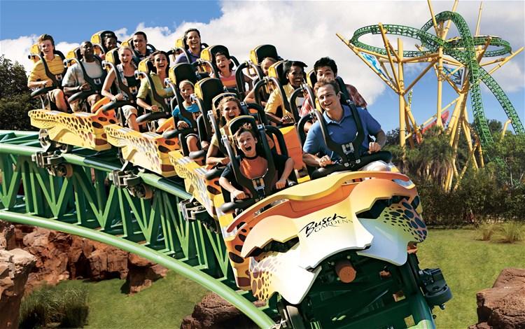 SeaWorld Orlando U0026amp; Busch Gardens 2 Park Ticket
